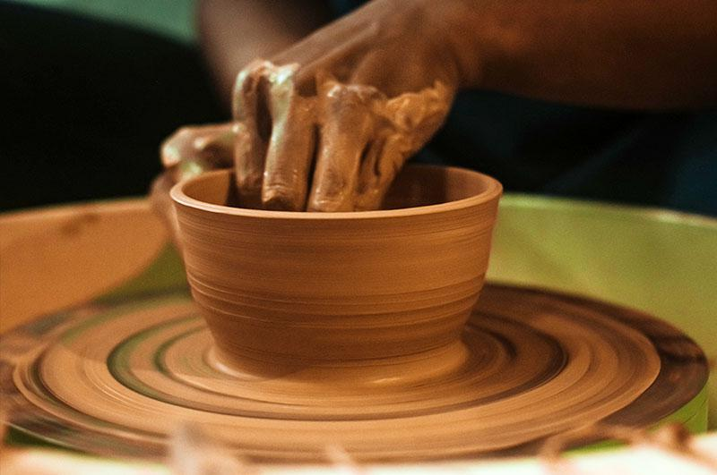 pottery di wisata alam kopeng treetop