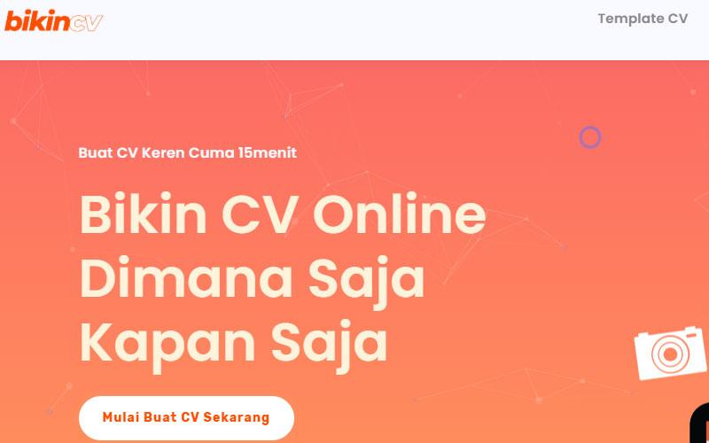 Cara Bikin CV yang Baik dan Benar, Unik dan Bagus