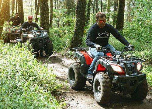 aktivitas wisata kopeng treetop adventure park