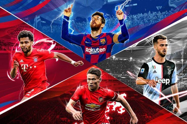 Sukses dengan Pro Evolution Soccer 2019, Konami Hadirkan Pro Evolution Soccer 2020 Mobile