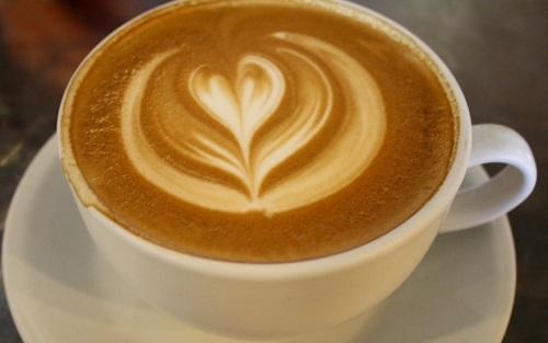 kopi latte panas