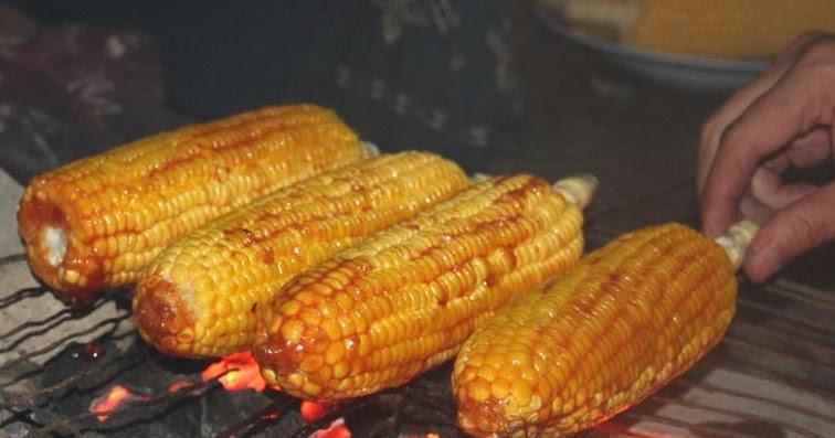 cara membuat jagung bakar manis