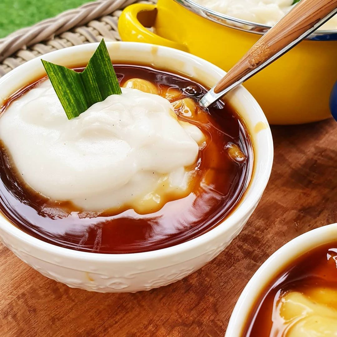 cara membuat bubur sumsum tanpa santan