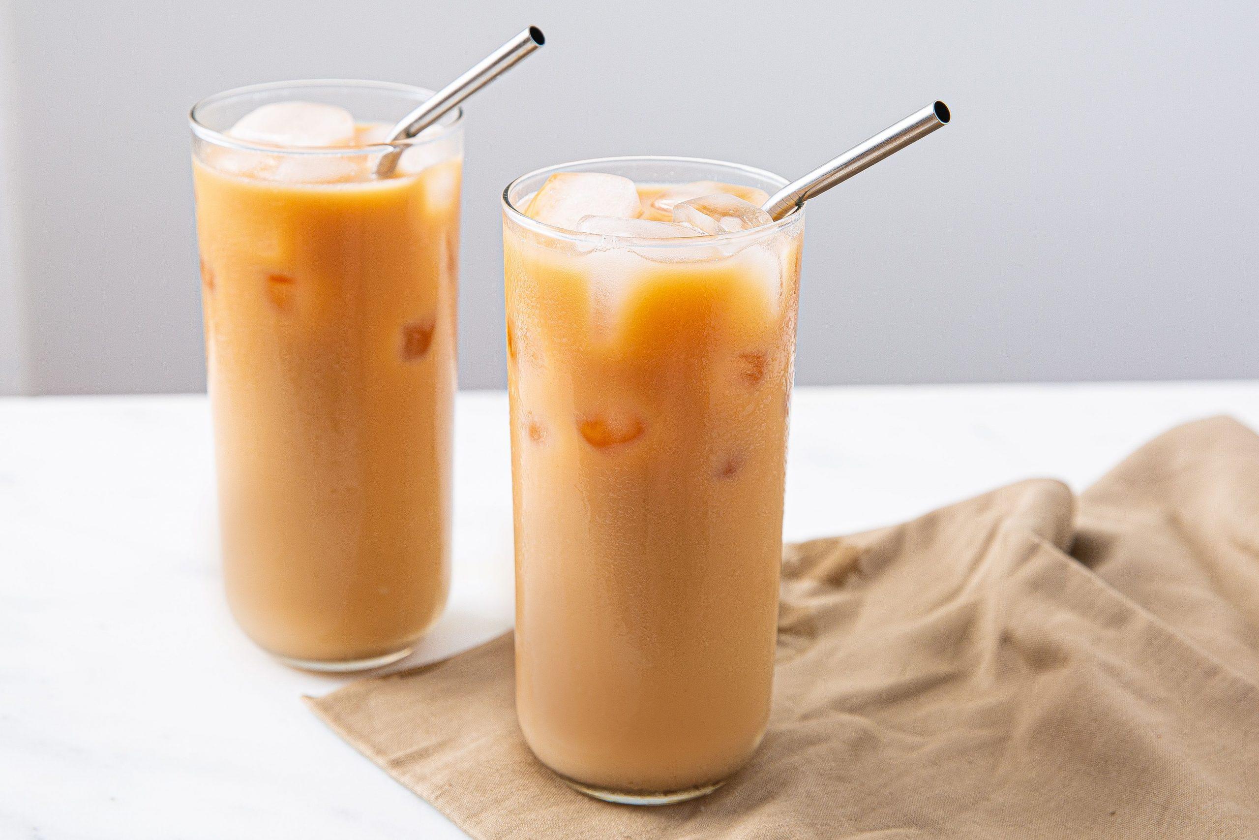 Cara Membuat Thai Tea Rumahan