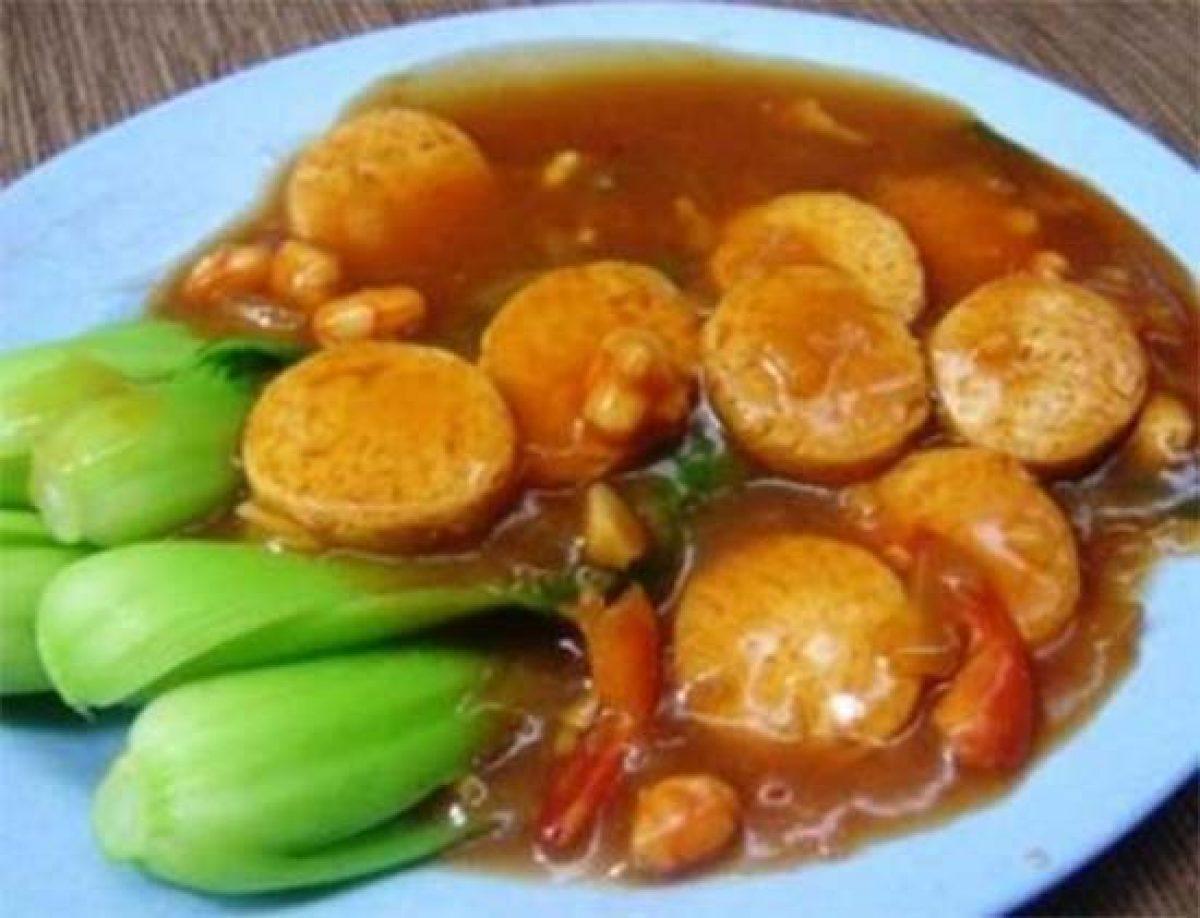 Tumis Pokcoy Tofu